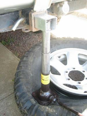 how to make a tyre bead breaker
